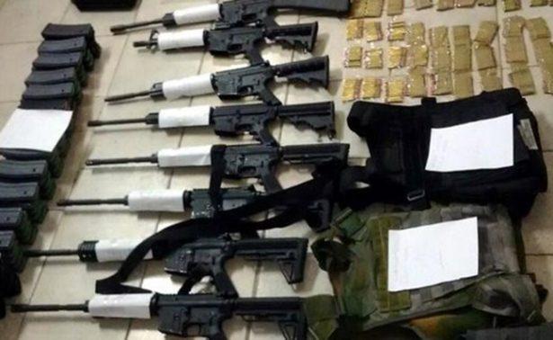 Necesaria estrategia internacional para detener tráfico de armas, advierte Alberto Elías Beltrán
