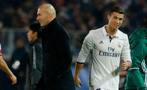 De vez en cuando Cristiano tiene que descansar; no hay problema: Zidane