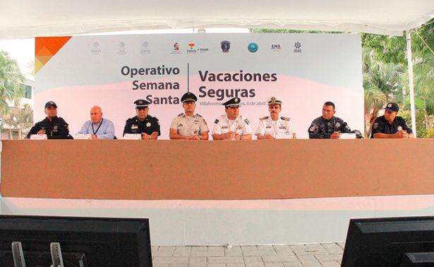 Fuerzas federales vigilarán en vacaciones de Semana Mayor
