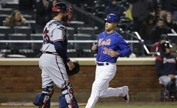 Los Mets de Nueva York vencieron 6-2 a los Bravos de Atlanta