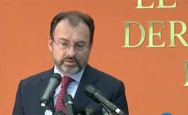 México y EU viven momento de definición de relaciones: Videgaray