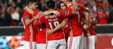 Benfica gana con dos goles de Pizzi al Tondela