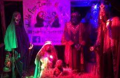 Vandalizan nacimiento navideño zombie en Ohio