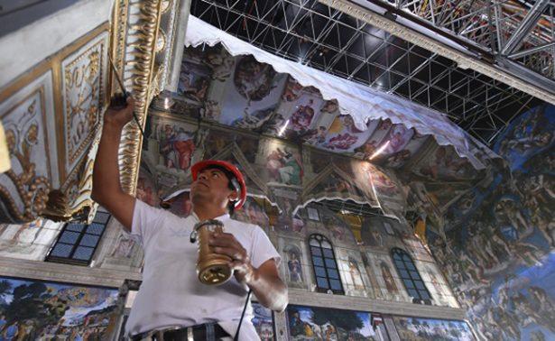 Abren Capilla Sixtina en Querétaro; esperan 300 mil visitantes