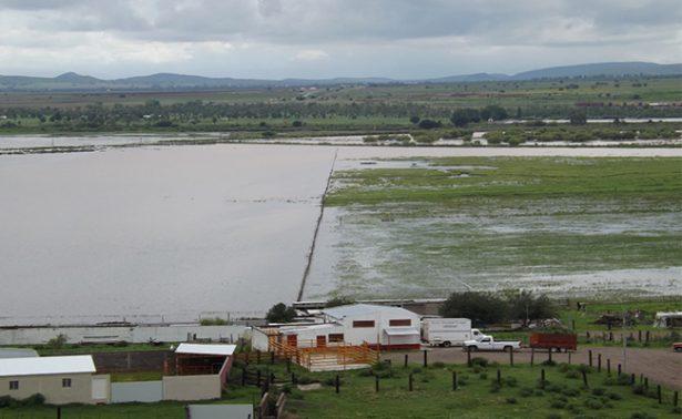 Tormenta azota Chihuahua; inunda campos menonitas