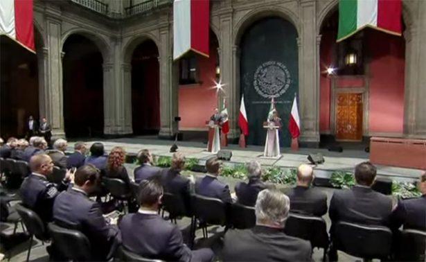 Destaca Peña Nieto potencial de relación bilateral México-Polonia