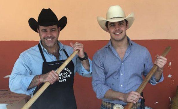 Eduardo Capetillo sube foto con su hijo y levanta pasiones en redes
