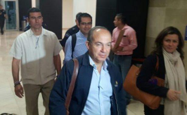 Margarita Zavala tiene posibilidadesde ganarle a Morena: Felipe Calderón
