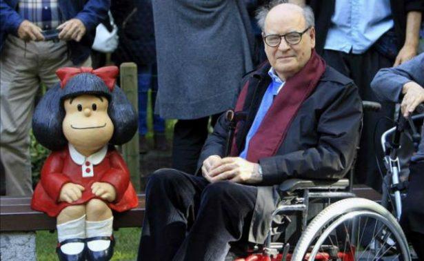 El padre de Mafalda celebra en familia su 85 cumpleaños