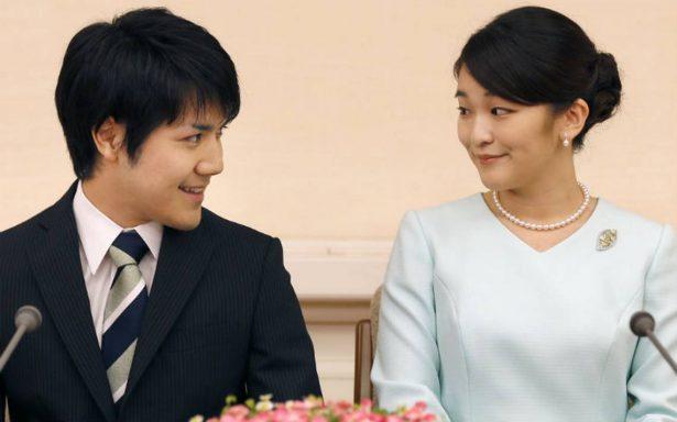 Por amor, princesa Mako de Japón renuncia a titulo nobiliario