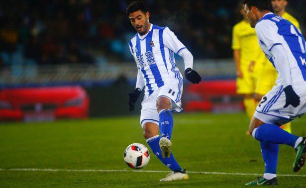 Real Sociedad enfrentará al Leganés sin Carlos Vela