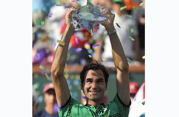 Roger Federer logró su quinto Indian Wells