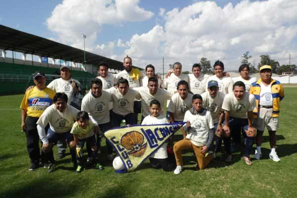 Empatan 3-3 La Concha y Chelsea de Tlachco