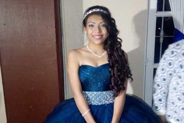 Gabriela Ángeles cumple quince años