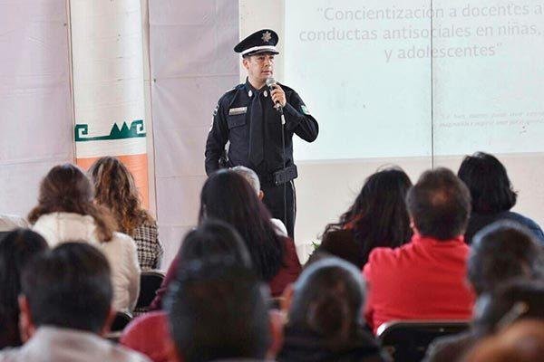 Busca Gendarmería inhibir conductas violentas en estudiantes