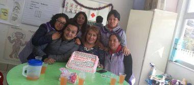 Sorprenden a Montserrat en su cumpleaños