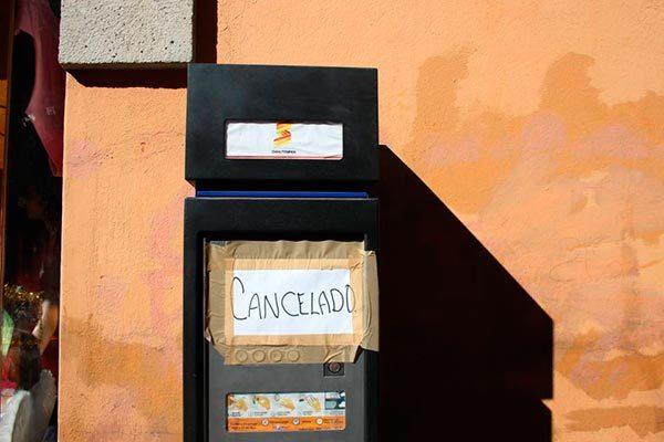 Habrá parquímetros 'hasta  nuevo aviso' en Chiautempan