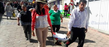 En honor a San Sebastián, muestran solidaridad en Tepeyanco