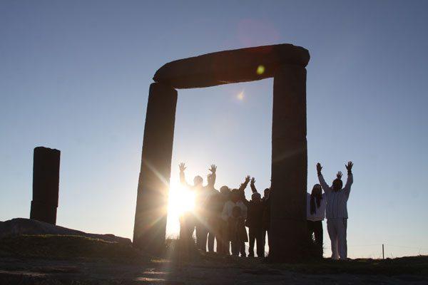 Visitan Xochitécatl para 'recargarse' de energía
