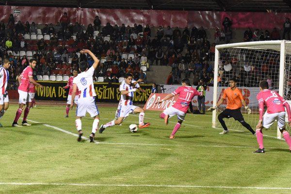 Anulan gol a Tlaxcala y Sporting Canamy sale vivo de la Cueva