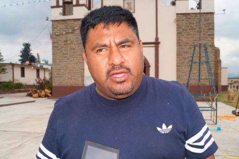 El artesano de la pirotecnia, Rosalio Carmona Torres, aseguró que Sanctórum es el número uno en el estado en producción y manejo de artículos pirotécnicos. / Manuel MORALES