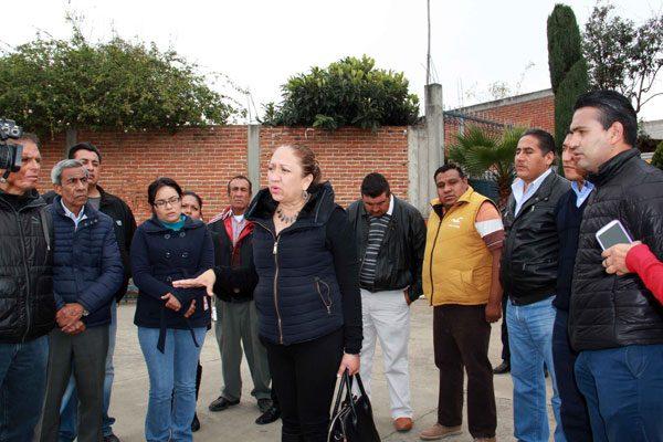 Anuncia alcaldesa de Texoloc $2 millones para obra