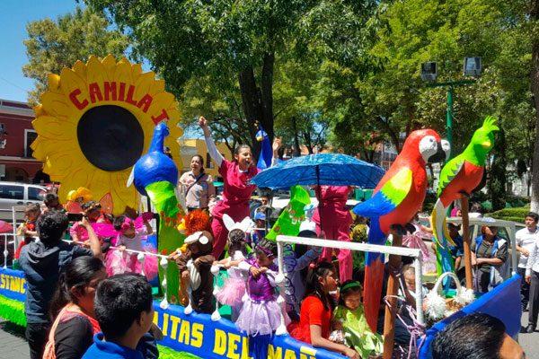 Dan estancias infantiles de Tlaxcala bienvenida a la primavera