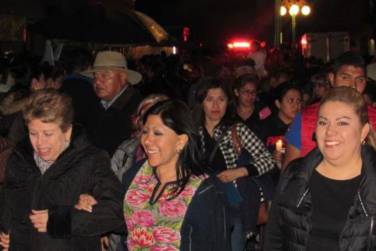 Ciudadanos, visitantes naciones y extranjeros, coincidieron en señalar que en Tlaxcalleando se vivió una noche espectacular. / EL SOL DE TLAXCALA