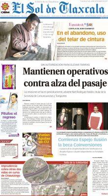 El Sol de Tlaxcala marzo 20 de 2017