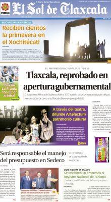 El Sol de Tlaxcala 21 de marzo de 2017