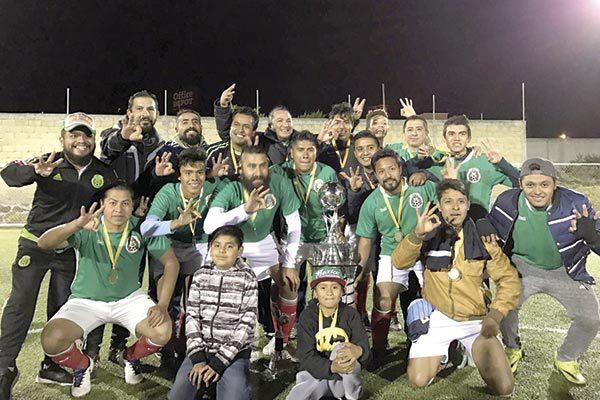 Hidalgo, tricampeón de la Seven vs Seven