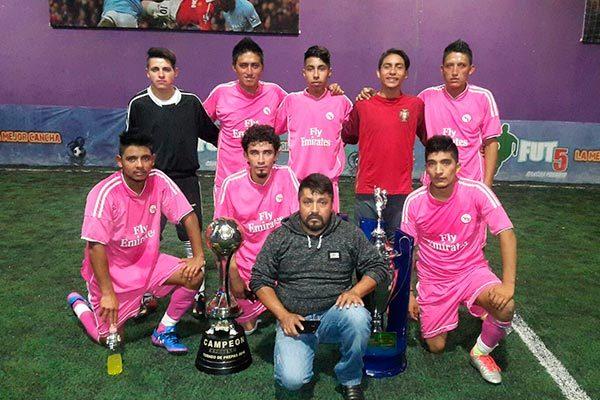 Espejel, tricampeón de división colegial en Calpulalpan