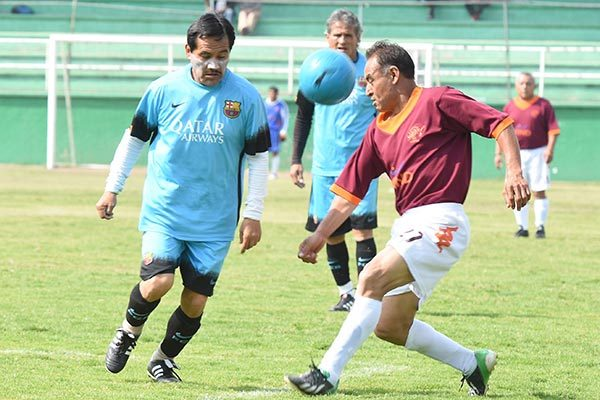 Crece liga máster 50 y más; reúne equipos de diferentes municipios