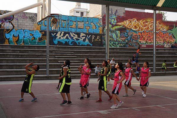 Crean escuela de basquetbol en el  municipio de San Pablo del Monte