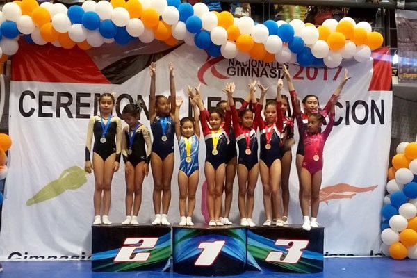 Cierra gimnasia de trampolín tlaxcalteca con ocho medallas