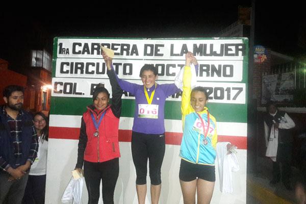 Los primeros tres lugares de la categoría libre y máster recibieron medallas e incentivos económicos. / Fabiola VÁZQUEZ