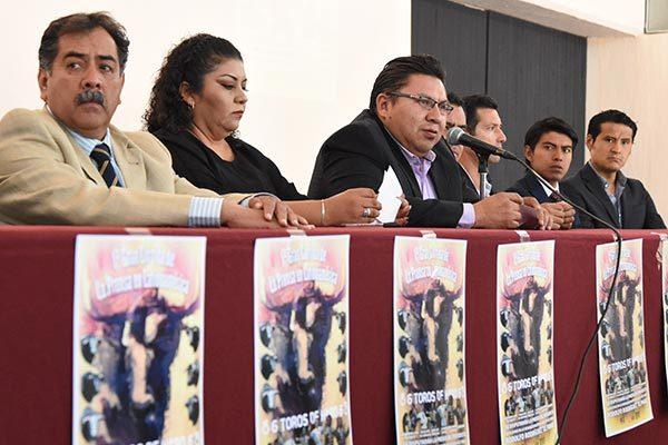 En Tlaxcala, primera corrida de la prensa Latinoamericana