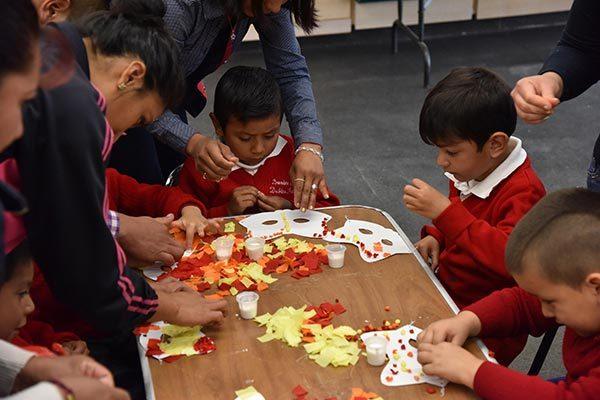 Asisten más de mil niños y niñas a la Jornada Cultural-ITC