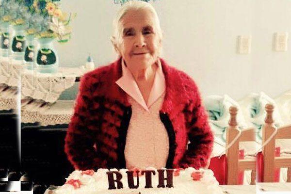Ruth Hernández cumple 95 años