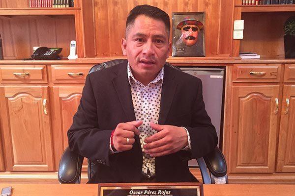 Señalamientos de la síndico dañan  imagen de Quilehtla: Óscar Pérez
