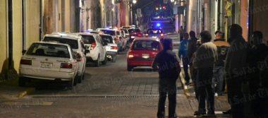 Frustran taxistas asalto a uno de sus compañeros en Apizaco