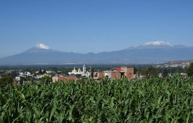 Una hermosa vista se observa desde el municipio de Tepeyanco