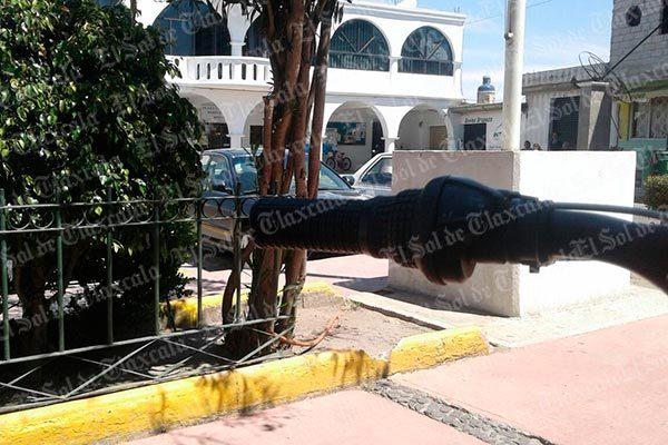 """[Video] """"La Fortaleza"""" operaba con complacencia de autoridades, aseguran vecinos de Ayometla"""