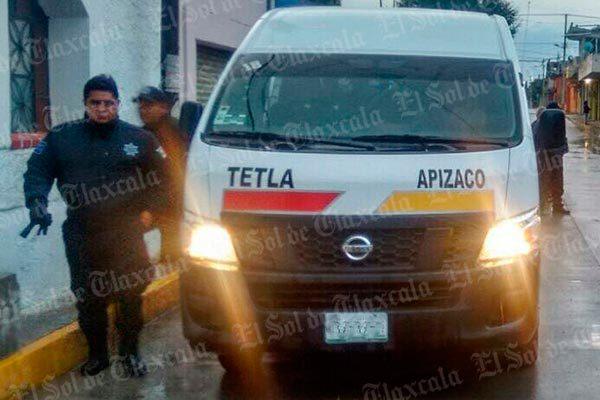 Tras persecución, recuperan policías  colectiva robada