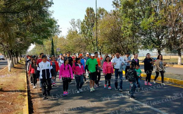 Clausura comuna capitalina la Semana Nacional de Activación Física