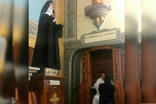 Cobra interés Confesión previo al Viernes Santo