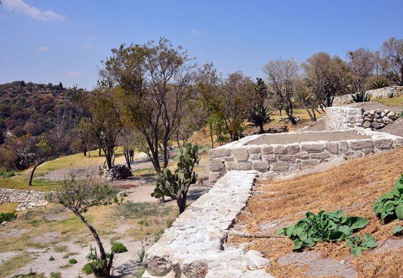 Consolidan núcleo ceremonial de la Zona Arqueológica de Tepeticpac, en Tlaxcala