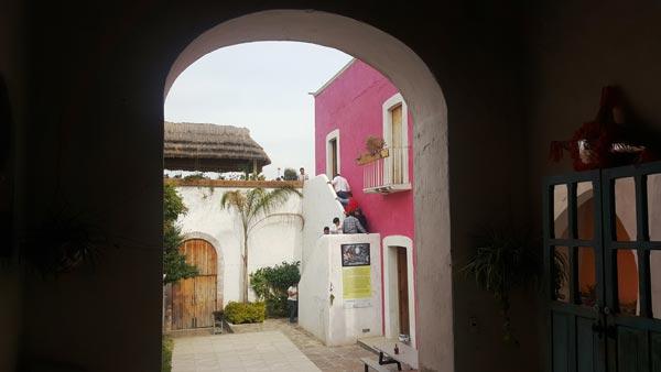 La Galería del Agua, establecida por el artista plástico Rafael Cázares, es uno de los sitios ideales para atraer al turismo cultural. /Leonel TLALMIS