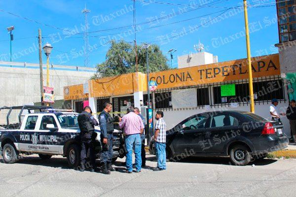 Roban equipo de cómputo del Centro de Salud de Tepetlapa