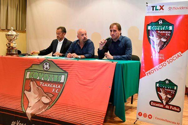 Torre Mendoza señaló que, para no perder el ritmo de juego, el equipo participará en la Liga Nuevos Talentos de la segunda división profesional. /Everardo NAVA